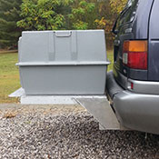 A Deuce Dog Kennel on a Custom Made Mount