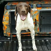 Jet Shows Off his Deuce Kennel with Insulated Door Cover