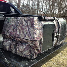 Insulated Camo Kennel Cover